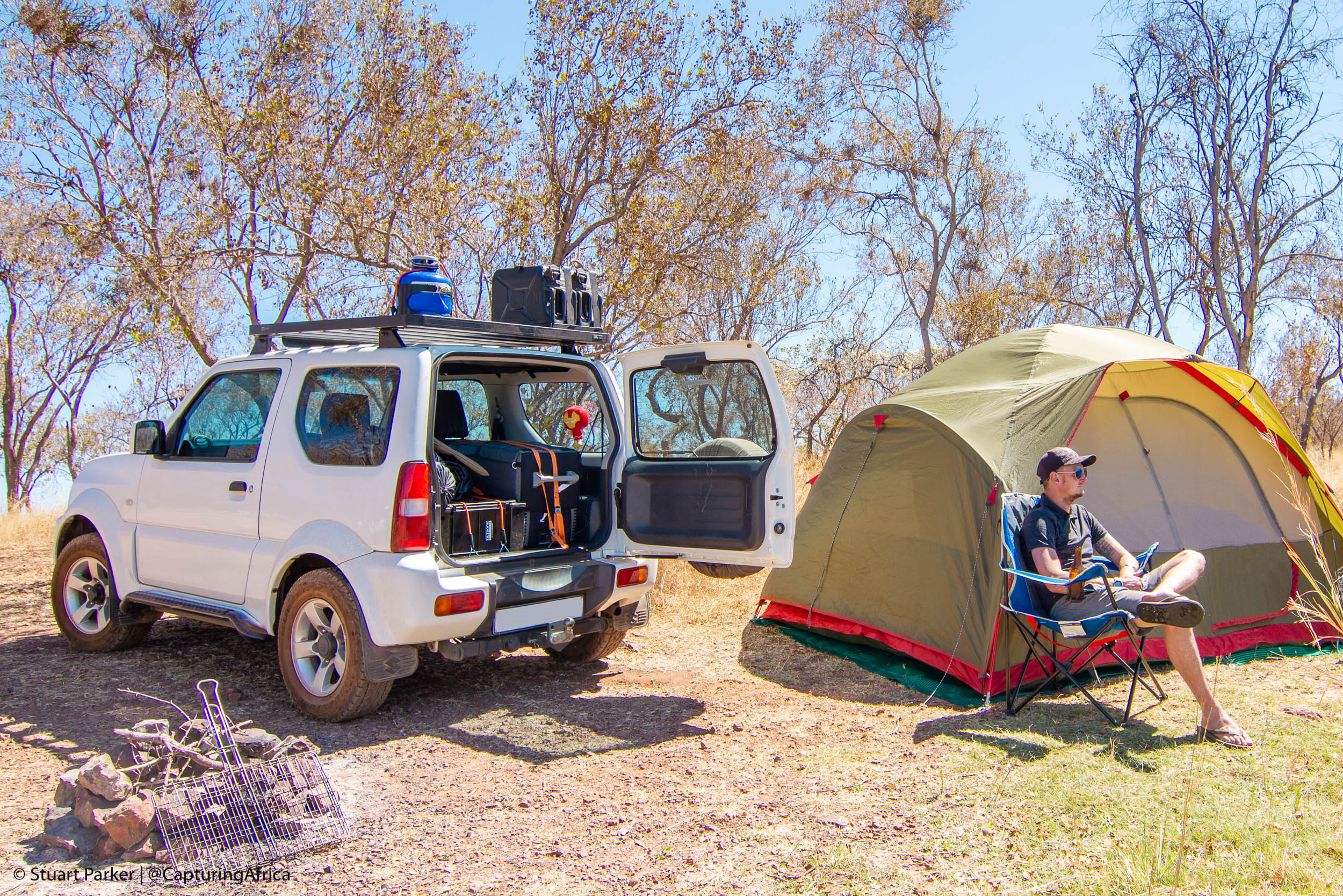 Camping vacation in South Africa with Tread Lite 4x4 hire