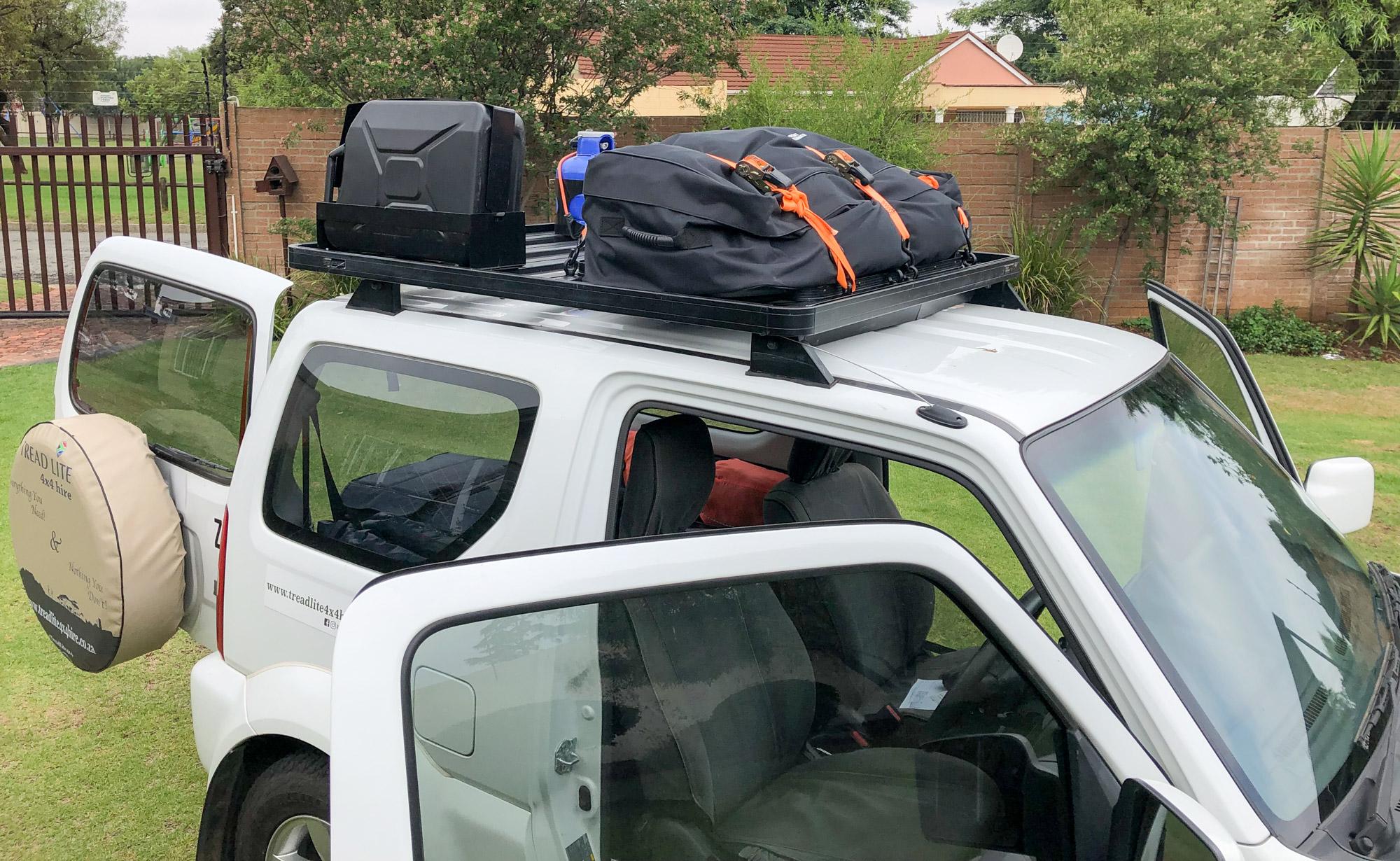 Johannesburg to Cape Town in a Suzuki Jimny
