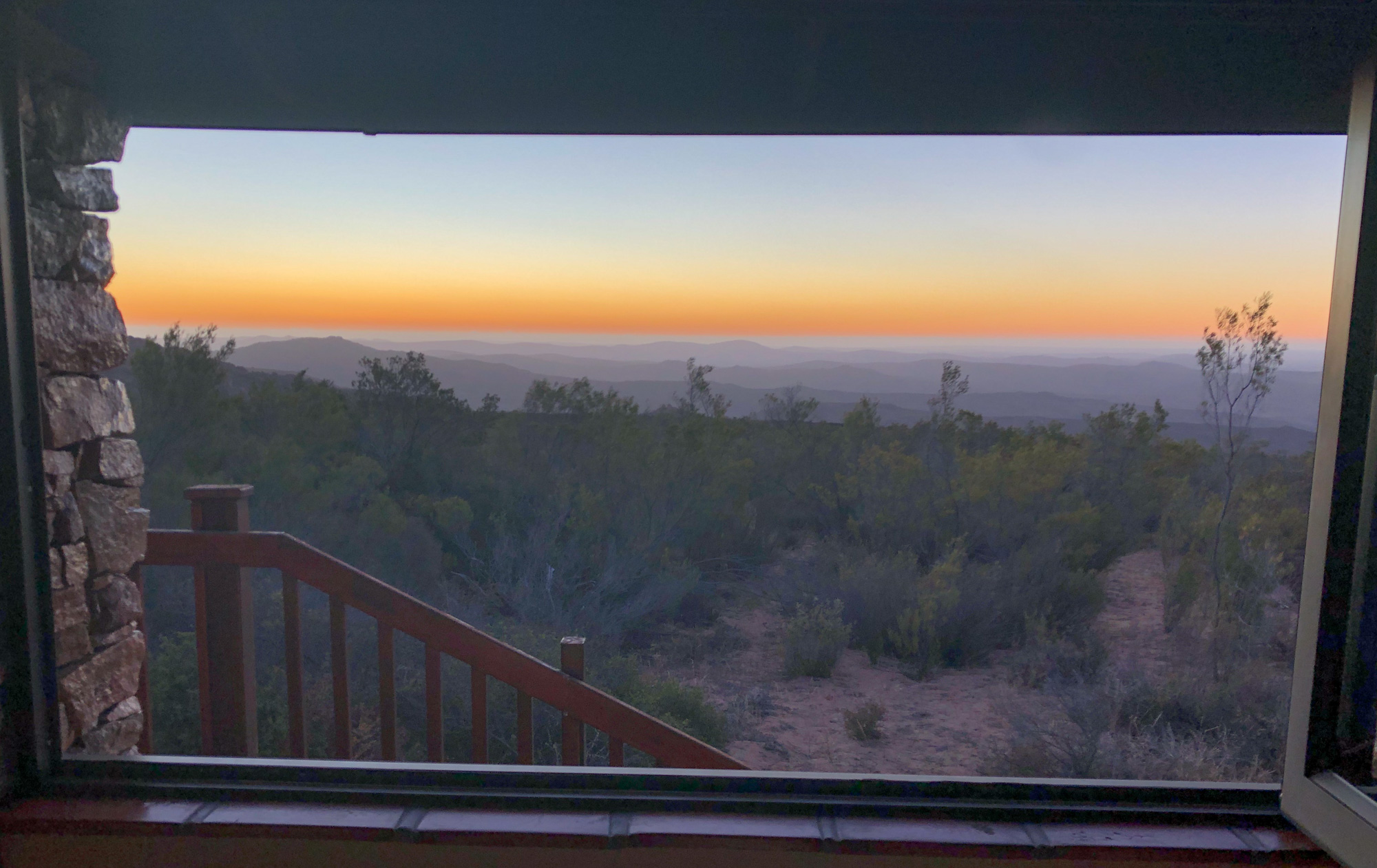 Room views from the Namaqua National Park