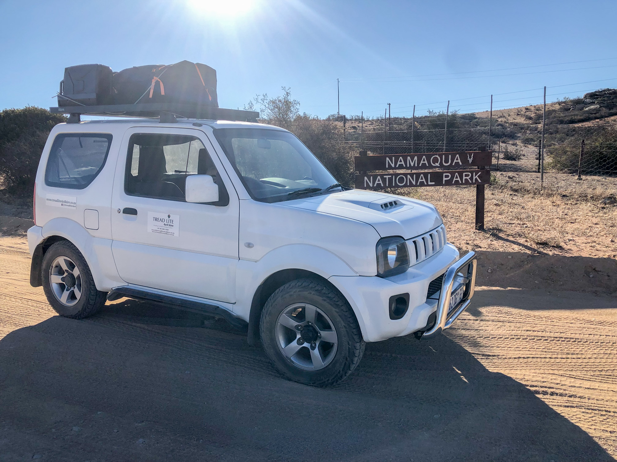 Equipped, compact 4x4 hire in South Africa